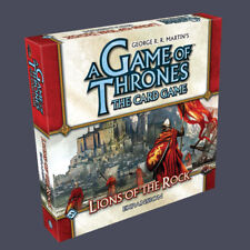 A Game of Thrones (The Card Game) AGOT LCG - Lions of the Rock expansion (New)
