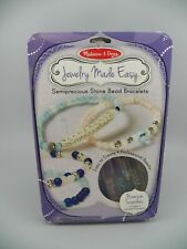 Melissa & Doug Jewelry Made Easy Semiprecious Stone Bead Bracelets COMPLETE