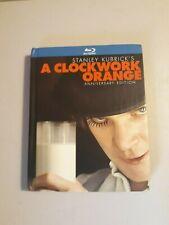 A Clockwork Orange [Two-Disc Anniversary Edition Blu-ray Book Packaging] Cib Euc