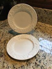 Mikasa English Countryside Salad Plate Set of (2) White Very Nice