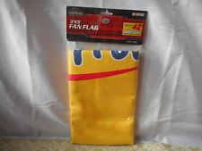 NASCAR Montoya #42 FLAG Wrigley's Juicy Fruit 3' X 5' Bright Yellow NEW
