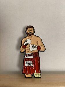 Canelo Alvarez Boxing Enamel Pin