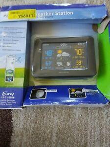 Weather Station Digital Wireless Home Forecasting Barometer Backyard Sensor,***