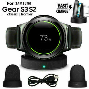 Wireless Charging Charger Dock Stand for Samsung Gear S2 S3 Galaxy Watch 42/46mm