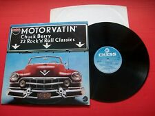 Chuck Berry - Motorvatin' - UK 1977 Vinyl LP Album. Chess. 9286 690. EX+/VG