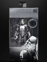 Star Wars Black Series 40th Anniversary - Carbonized Stormtrooper Action Figure