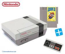 Nintendo NES - Konsole + Super Mario Bros. 3 + Original Controller + Zub.