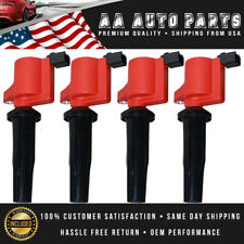 4pcs Ignition Coils DG541 4M5G-12A366-BC for Ford Mazda Mercury 2.0l 2.3l 4cyl