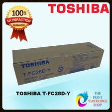 Genuine Toshiba T-fc28d-y Yellow Toner Cartridge 2820c 3520c 4520c