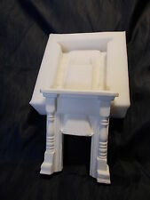 * DOLLS HOUSE * BED ROOM FIRE-PLACE SILICONE RUBBER MOULD