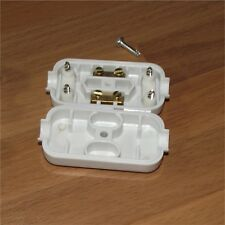 5A InLine Connector Box 2 Terminal Join Mains Cable Flex Mains Electrical Joiner