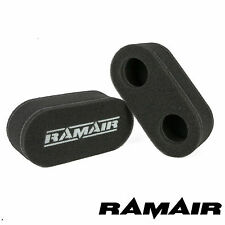 RAMAIR PERFORMANCE AIR FILTERS CLEANERS MOTORCYCLE CARB SOCKS NEW