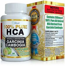 Island's Miracle 100% HCA (New Highest Potency) Pure Garcinia Cambogia Extr  s