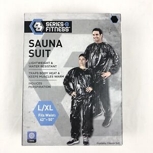 Sweat Suit Sauna Exercise Gym Series 8 Fitness Weight Loss AntiRip Size L/XL NEW