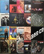 Lot Of 20 Classic Rock Vinyl Record LP Albums HEART AEROSMITH JAMES GANG