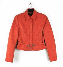 KAREN MILLEN (Sz 10) Wool Mix Brocade Jacquard Jacket Occasion Party Business