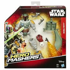 STAR Wars-HERO MASHERS DELUXE-b3667 Boba Fett-NUOVO