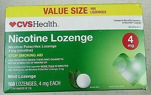 CVS Nicotine Lozenge 4mg  MINT 168ct  Exp  2/21