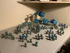 Warammer 40k SPACE MARINES LOT PAINTED AND BASED FIRE! Dreadnought stormraven