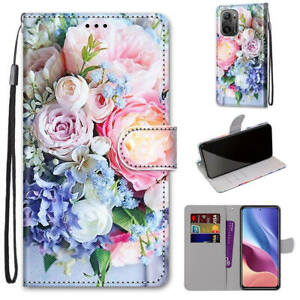For Xiaomi Mi 11i Redmi Note 10 5G 10S Flip Magnetic Leather Wallet Case Cover