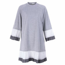 Long Sleeve Dresses for Women with Pleated