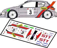 DECALS 1/43 PEUGEOT 206 WRC  #3 - KUZAJ - RALLYE ELPA 2002 - MFZ D43009