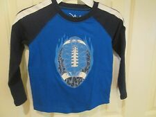 NWT Jumping Beans long sleeve shirt with football, Size 4