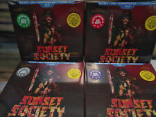 Sunset Society Limited Deluxe Ed.(CD DVD Blu-ray Disc 7 inch etched + more)