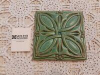 Motawi Tile Works Pottery Tile Art Deco Celtic Michigan USA