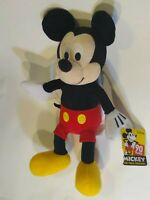 Disney MICKEY MOUSE Plush Stuffed Toy NEW KOHLS CARES NWT 90 Years 14""