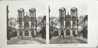 Nice Eglise Notre-Dame Foto Stereo Steglitz Berlino Vintage Analogica 1904