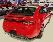 PAINTED FACTORY STYLE SPOILER fits the 2013 2014 2015 DODGE DART