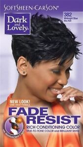 DARK&LOVELY Fade Resist Rich Conditioning Hair Color #382 Midnight Blue