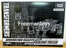 TAKARA TOMY TRANSFORMERS GENERATION SELECTS SEACONS TURTLER COMBINE PIRANACON
