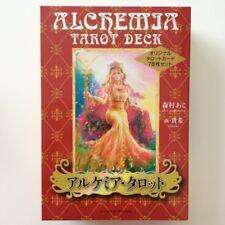 Alchemia Tarot Deck 78 Ako Morimura Takaki original card set Japanese From JAPAN