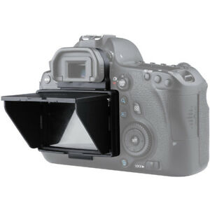 LCD Screen Protector Pop-up Sun Shade Hood Cover Guard for Canon EOS 6D Camera