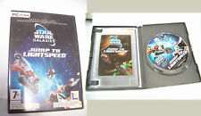 PC CD-ROM Star Wars Galaxies Jump to Lightspeed Espansione uno Lucas Arts