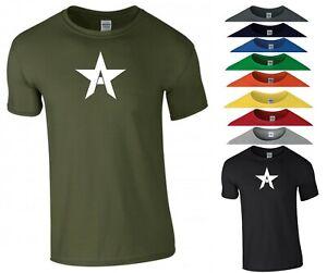 Captain America T Shirt A Logo The Falcon Superhero Gym MMA Gift Kids Tee Top