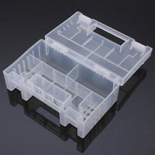 Transparent Plastic Battery Holder Storage Case For AA AAA Tools Box