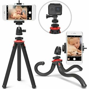 Xenvo SquidGrip Flexible Cell Phone Tripod and Portable Action Camera Holder ...