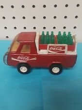 Vintage Buddy L COCA COLA Delivery Truck w/ Coke Bottles (read description)