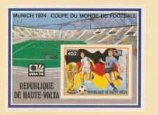 MayfairStamps 1974 Burkina Faso C182 World Cup Soccer Souvenir Sheet Mint Never