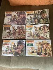 Airfix Matchbox 1 32 toy soldiers boxed Complete Collection