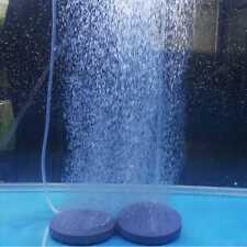 1 X Gray Durable Aquarium Fish Tank Air Bubble Disk Stone Transport Oxygen Tool