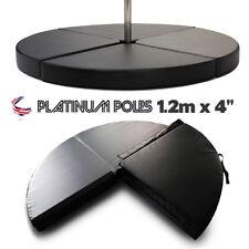 1.20m x 100mm Pole Dance Danse Mat Padded Safety Training Floor Tapis Matte