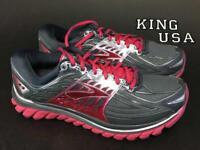 Women's Brooks Glycerin 14 Running Shoes Anthracite Azalea Size 7 2A-Narrow