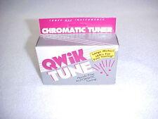 Qwik Tune Qt-2 Chromatic Tuner - New