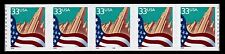 United States, Scott # 3281, Coil Strip Of 5 Pnc # 9999 Large Date, Flag & City