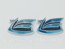 Toyota Celica 1971-77 Rear Quarter Panel Blue Dragon Emblem Set of 2 75386-14901