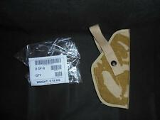 British Military Army Right Hand DPM Desert Camo Browning Pistol Holster